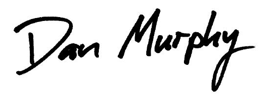 Dan Murphy Signature